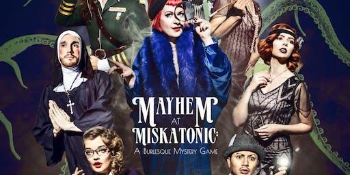 Mayhem at Miskatonic: A Burlesque Mystery Game