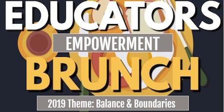 Educators Empowerment Brunch tickets
