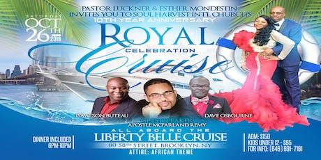 Soul Harvest Int'l Church's Royal Celebration Boat Ride tickets