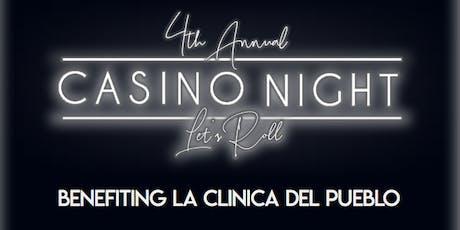 Flock DC hosts the 4th Annual Casino Night Benefiting La Clinica del Pueblo tickets