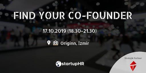 Find Your Co-Founder İzmir #1 – StartupHR