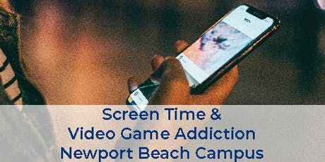 Free Health Seminar: Screen Time & Video Game Addiction tickets