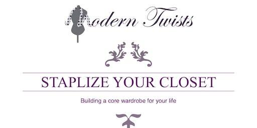 Staplize Your Closet
