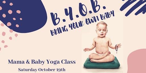 Denver Sisterhood: Mama and Baby Yoga Class