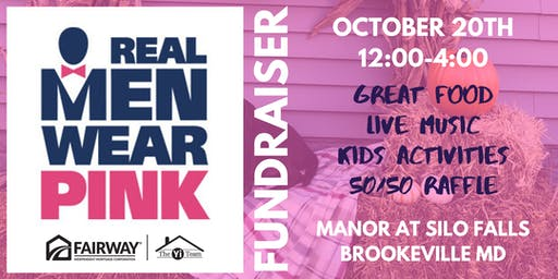 Real Men Wear Pink/American Cancer Fundraiser
