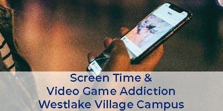 Free Health Seminar: Screen Time & Video Game Addiction tickets