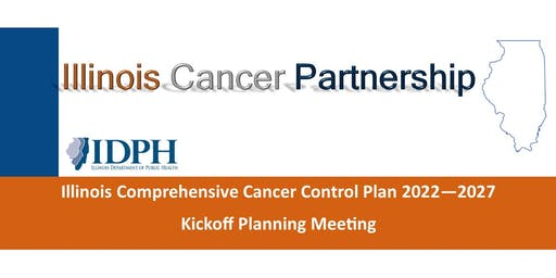 Chicago-Area Illinois Comprehensive Cancer Control  Plan Kickoff Meeting