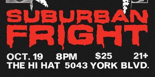 SUBURBAN FRIGHT - OCT. 19th 2019 - Suburban Fight Pro Wrestling