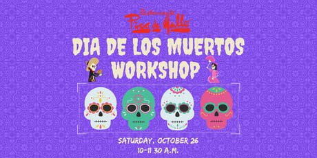 Kids' Dia de los Muertos Sugar Skull Workshop 2019 tickets