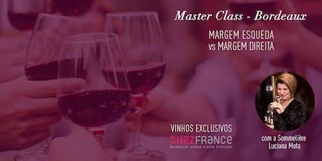 Masterclass Bordeaux ingressos