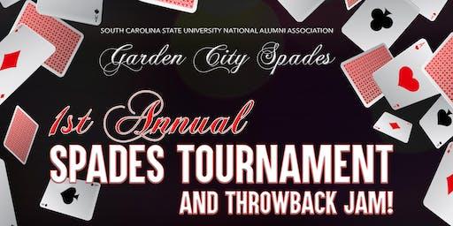 Garden City Spades - 1st Annual Spades Tournament and Throwback Jam!