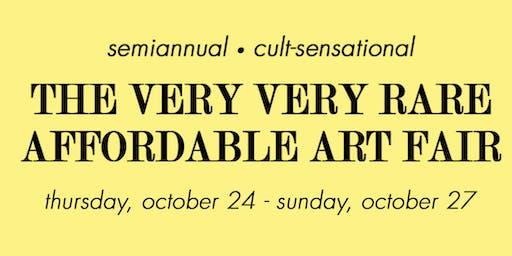 The Very Very Rare Affordable Art Fair