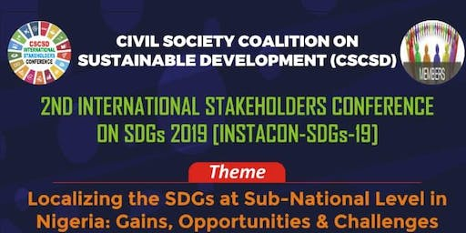 International Stakeholders Conference on SDGs 2019