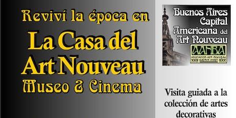 El origen del Art Nouveau: vivencia-visita guiada a la colección & Cinema entradas