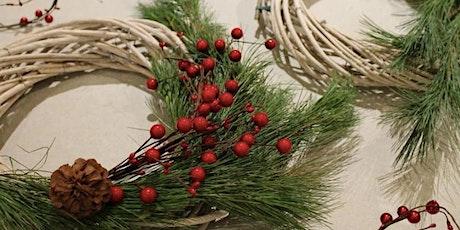 DIY Holiday Wreaths tickets