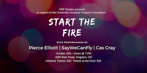 Start The Fire - Feat. Pierce Elliott, SayWeCanFly and Cas Cray