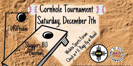 Sluggers 8U Baseball Cornhole Tournament