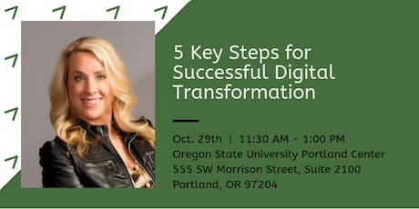 Five Key Steps for Successful Digital Transformation tickets