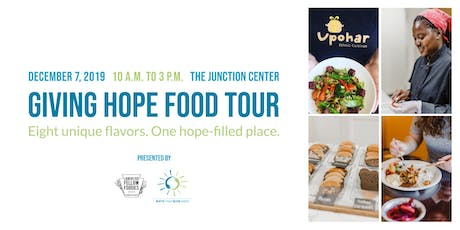 Giving Hope Food Tour tickets