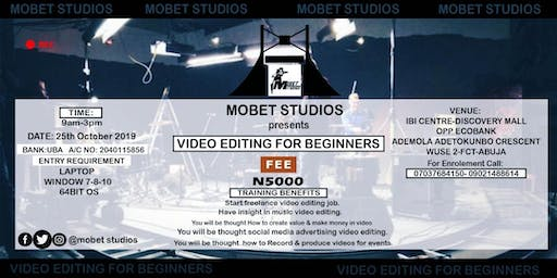 Certification in Video Editing For Beginners