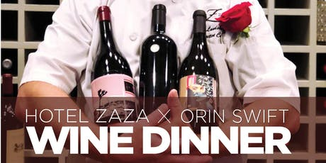 Orin Swift Wine Dinner tickets