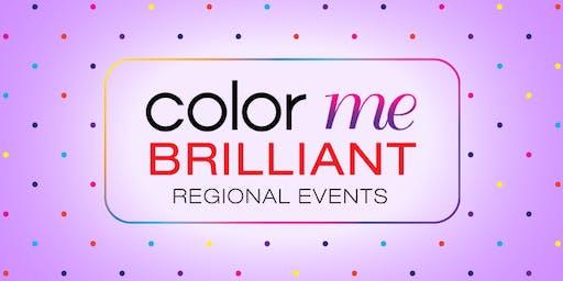 Color Me Brilliant October Regional Event--Topeka, KS