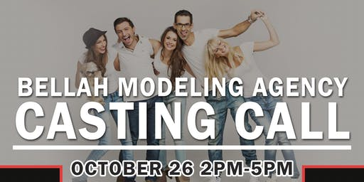 Bellah  Modeling Agency Charlotte CASTING CALL