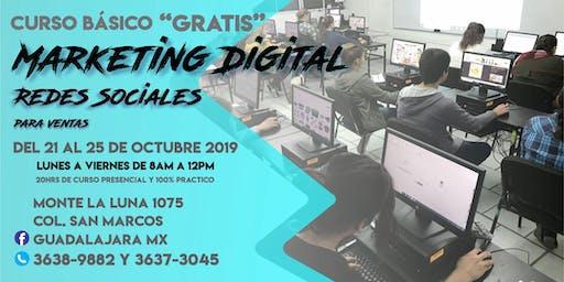 Marketing Digital & Redes Sociales (básico)