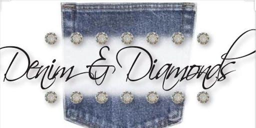 Mosby Family Denim & Diamond Holiday Party