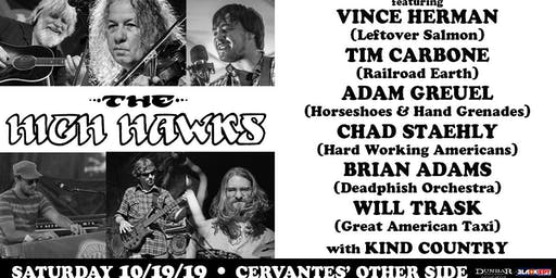 The High Hawks ft. Vince Herman, Tim Carbone, Adam Greuel, Chad Staehly