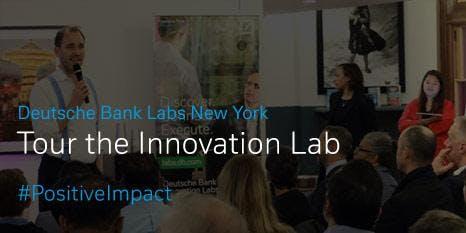 Deutsche Bank Innovation Lab Tour