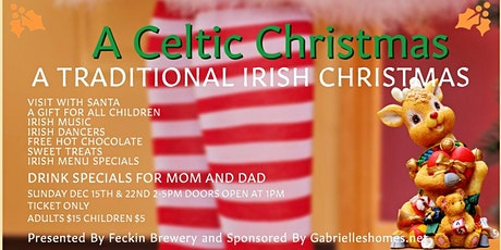 A Celtic Christmas tickets