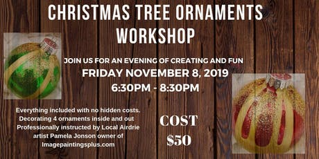 Christmas Tree Ornaments Workshop tickets