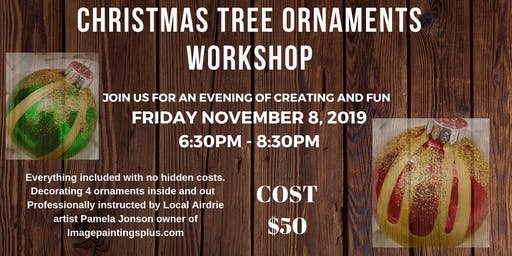 Christmas Tree Ornaments Workshop