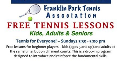 Free Tennis Lessons - Tennis For Everyone!