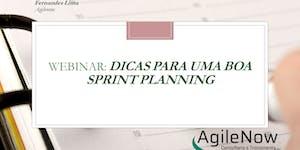 Webinar:Dicas para uma boa Sprint Planning GRATUITO -...