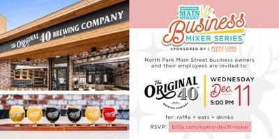 North Park Main Street Business Mixer Series