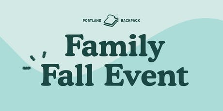 Portland Backpack Family Fall Event tickets
