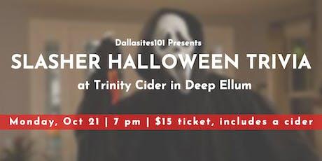 Slasher Halloween Movie Trivia tickets
