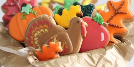 Give Thanks Sugar Cookie Class