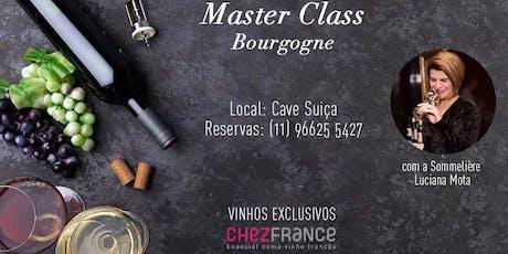 Masterclass Bourgogne ingressos