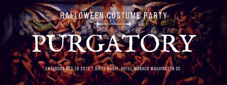 HALLOWEEN COSTUME PARTY 2019 | DIRTY HABIT AT HOTEL MONACO DC