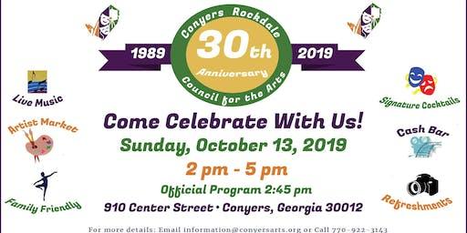 CRCA's 30th Anniversary Celebration