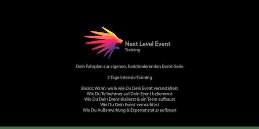 Next Level Event Training   Dein Fahrplan zur eigenen, funktionierenden Event-Serie