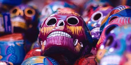MACLA Paint Night - Calaveras (Skulls) at Backyard SJ
