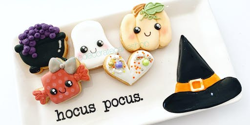 Kids Halloween Mini Cookie Class