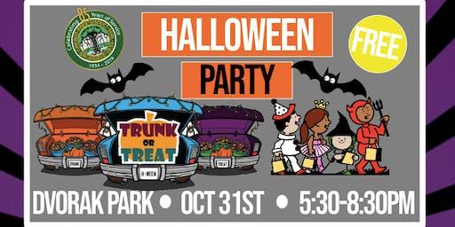 Dvorak Park Halloween Party