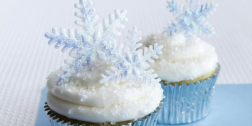 Second Seating: SNOW PRINCESS GLITTERY CUPCAKE CLASS!
