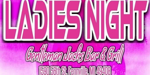 Ladies Night FT. Kelsey Lynn wsg Sharpnyko @ Gentleman Jacks Bar & Grille