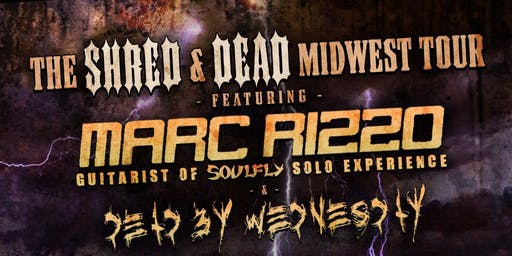 Marc Rizzo of Soulfly @ Roscos